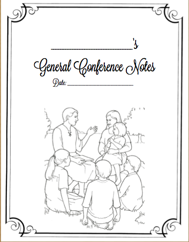 General Conference Packet {for grown-ups}   Sunbeam Singing