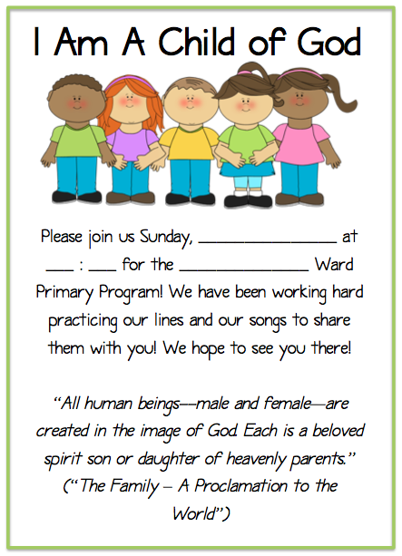Parent Letter To Practice Christmas Program Songs